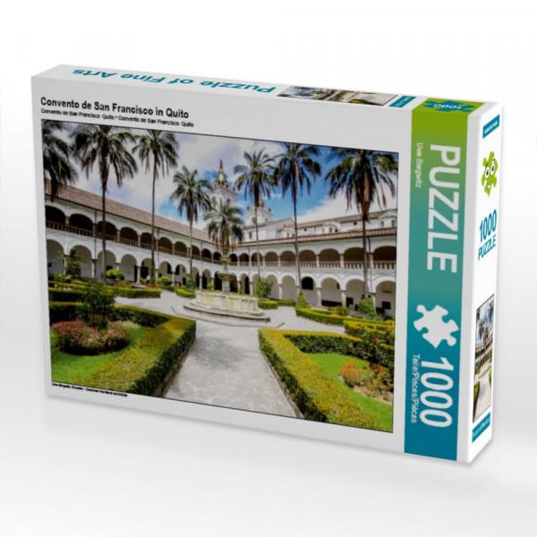 Puzzle Convento de San Francisco in Quito
