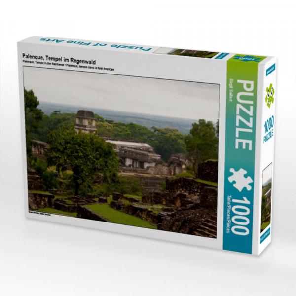 Puzzle Palenque Tempel im Regenwald