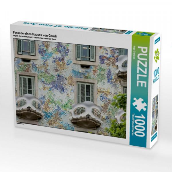 Puzzle Fassade eines Hauses von Gaudí