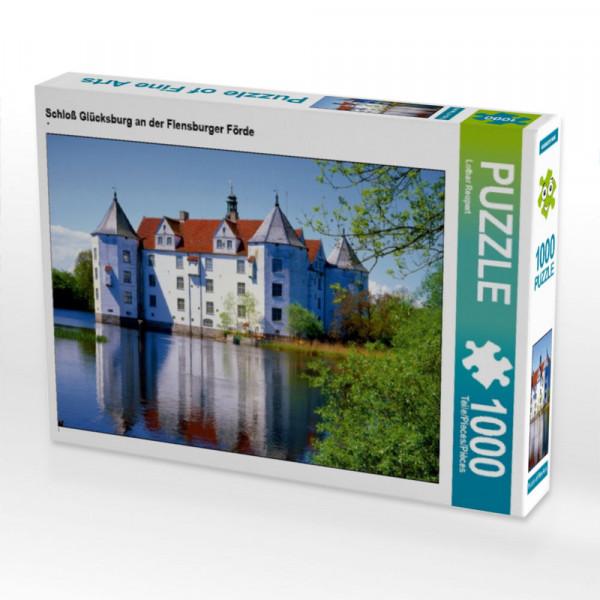 Puzzle Schloß Glücksburg an der Flensburger Förde