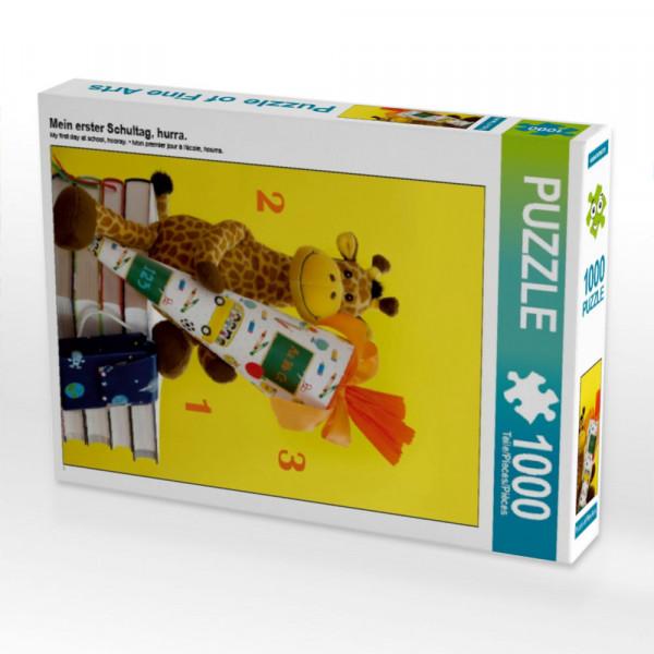 Puzzle Mein erster Schultag hurra.