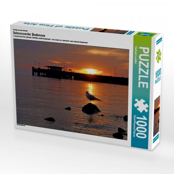Puzzle Sehenswerter Bodensee