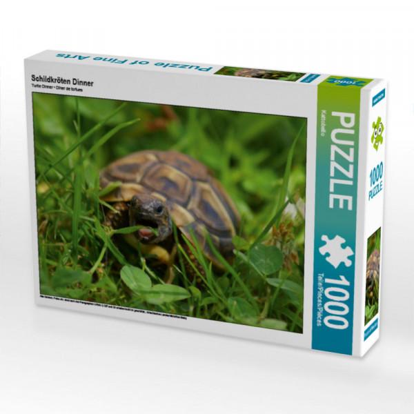 Puzzle Schildkröten Dinner