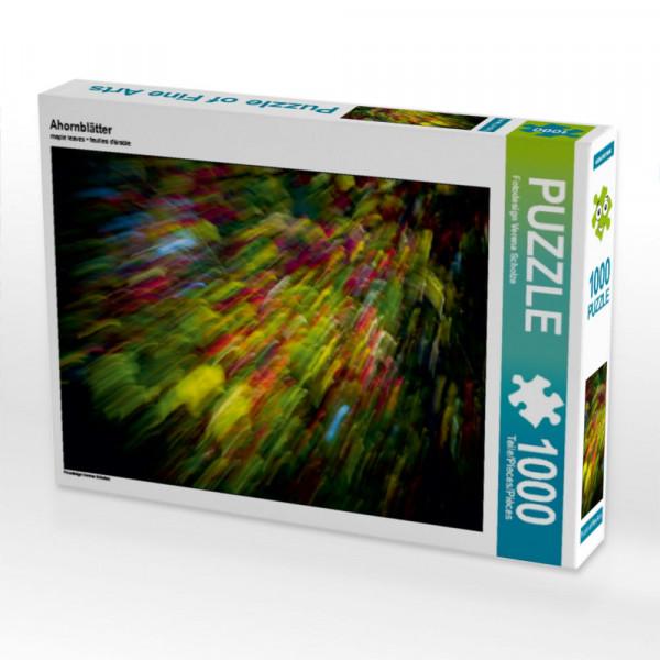 Puzzle Ahornblätter