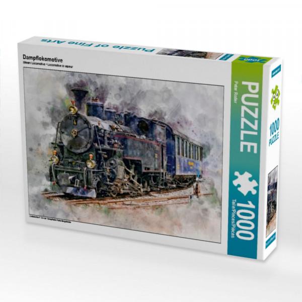 Puzzle Dampflokomotive