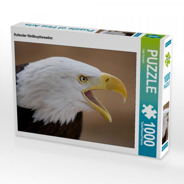 Puzzle Rufender Weißkopfseeadler.
