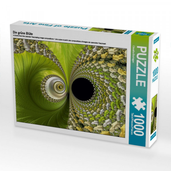 Puzzle Die grüne Blüte