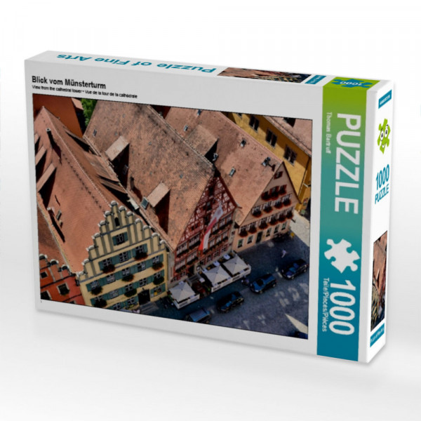 Puzzle Blick vom Münsterturm