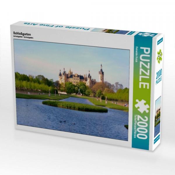 Puzzle Schloßgarten 2000 Teile Puzzle quer Motiv 1 Bild 1