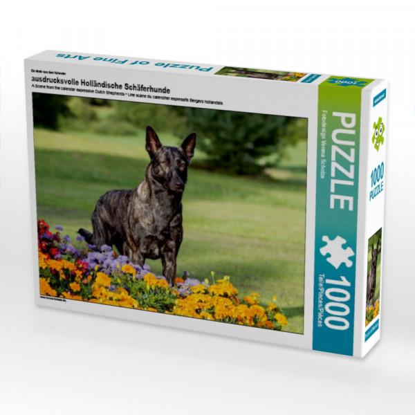 Puzzle ausdrucksvolle Holländische Schäferhunde