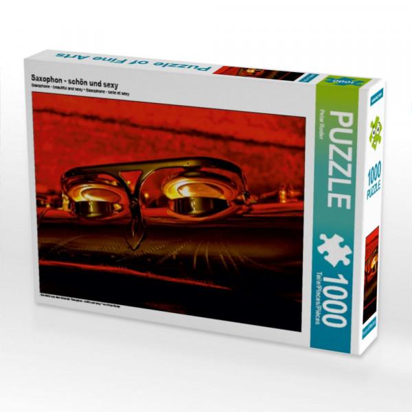 Puzzle Saxophon - schön und sexy