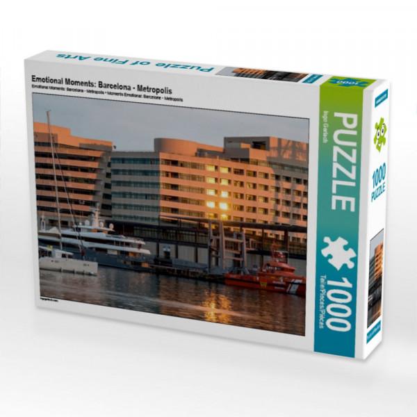 Puzzle Emotional Moments: Barcelona - Metropolis