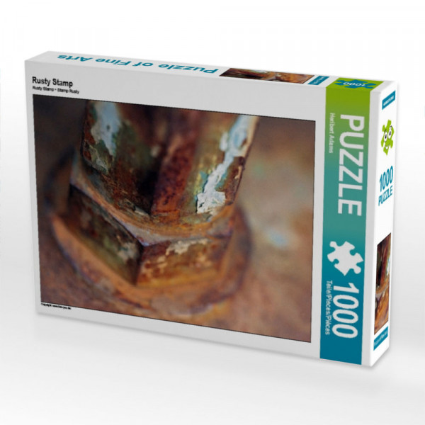 Puzzle Rusty Stamp