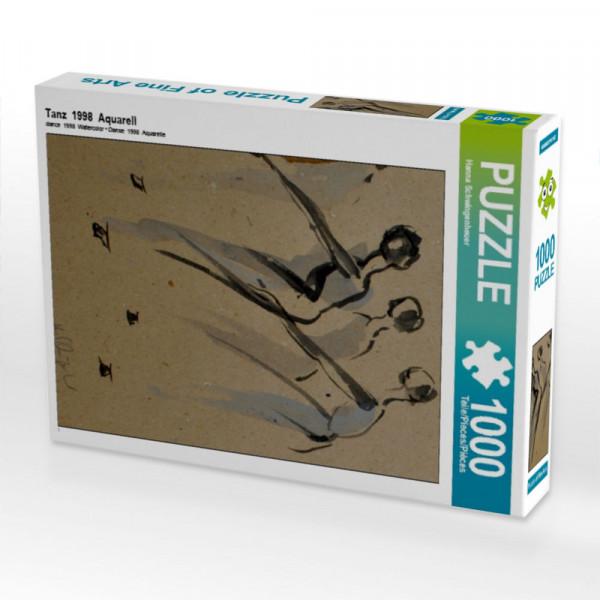 Puzzle Tanz 1998 Aquarell