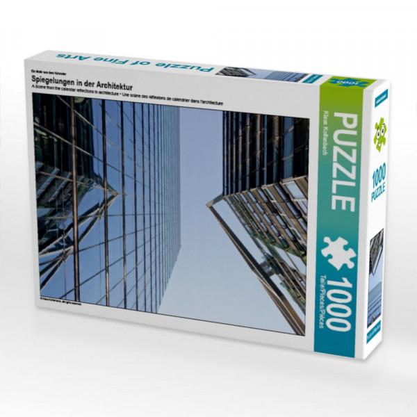 Puzzle Spiegelungen in der Architektur