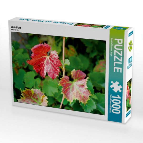 Puzzle Weinblatt