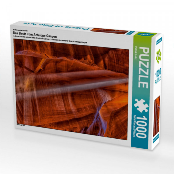 Puzzle Das Beste vom Antelope Canyon