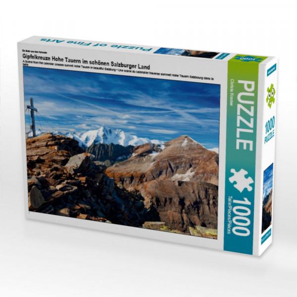 Puzzle Gipfelkreuze Hohe Tauern im schönen Salzburger Land