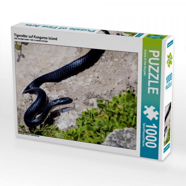 Puzzle Tigerotter auf Kangaroo Island