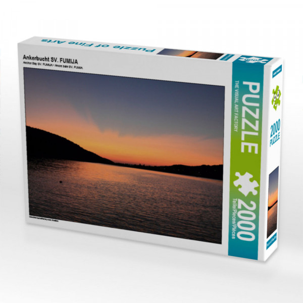 Puzzle Ankerbucht SV. FUMIJA Foto-Puzzle Bild von VISUAL ART FACTORY THE