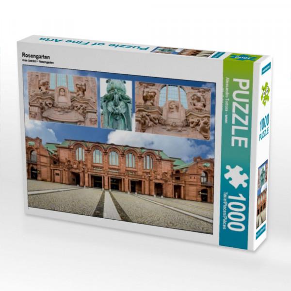 Puzzle Rosengarten