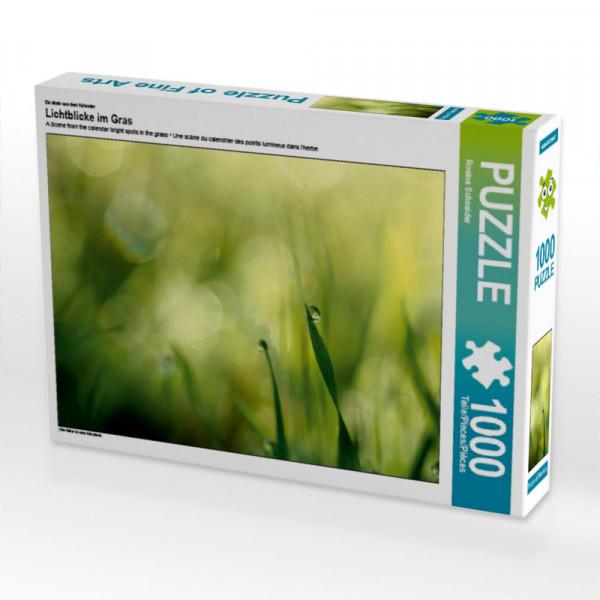 Puzzle Lichtblicke im Gras