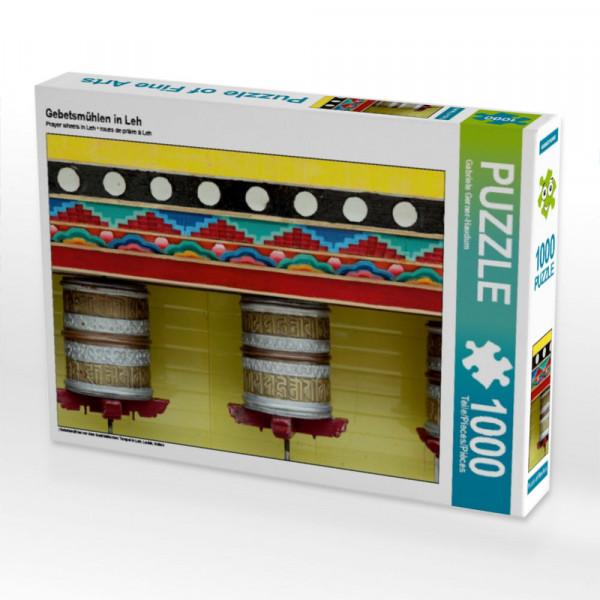 Puzzle Gebetsmühlen in Leh