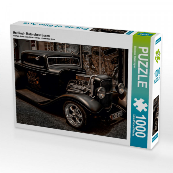Puzzle Hot Rod - Motorshow Essen
