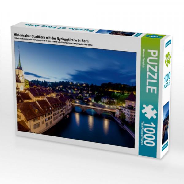 Puzzle Historischer Stadtkern mit der Nydeggkirche in Bern