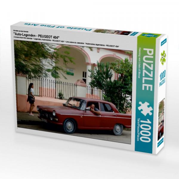 Puzzle Auto-Legenden - PEUGEOT 404