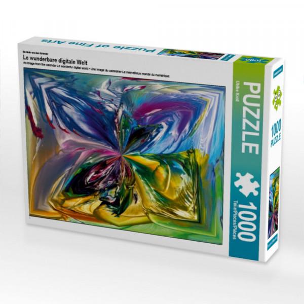 Puzzle Le wunderbare digitale Welt