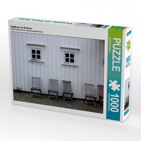 Puzzle Holzhaus in Svolvar