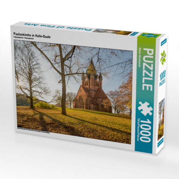 Puzzle Pauluskirche in Halle-Saale