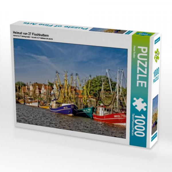 Puzzle Heimat von 27 Fischkuttern