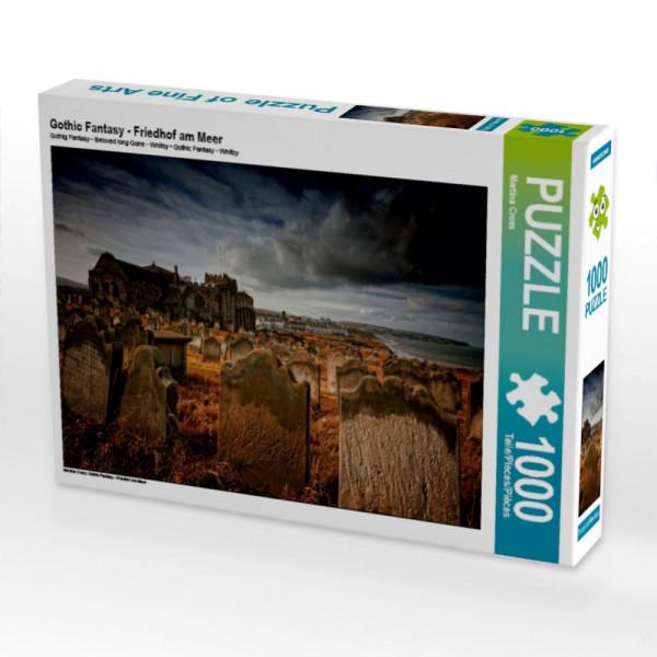 Puzzle Gothic Fantasy - Friedhof am Meer
