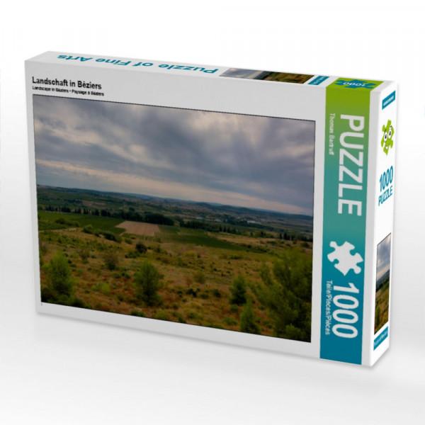 Puzzle Landschaft in Béziers