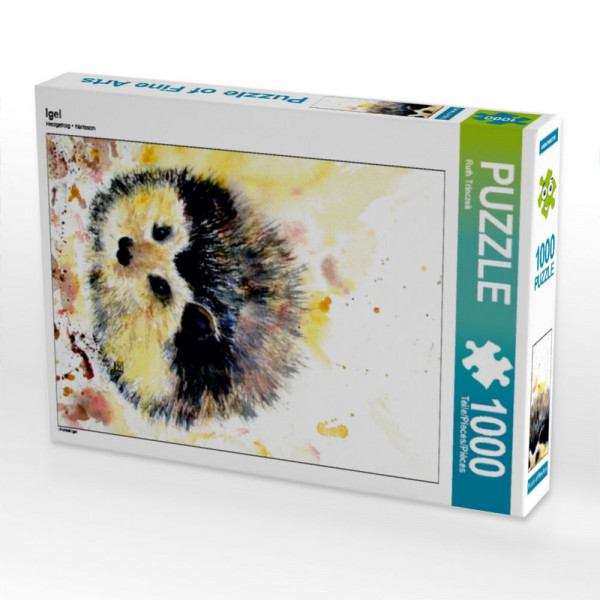Puzzle Igel