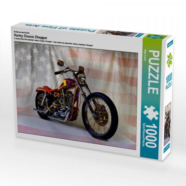 Puzzle Harley Classic Chopper
