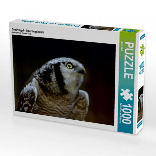 Puzzle Greifvögel - Sperlingskautz