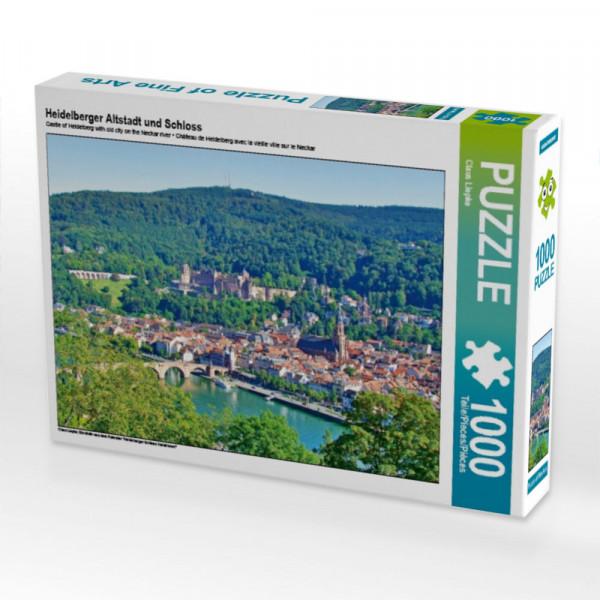 Puzzle Heidelberger Altstadt und Schloss