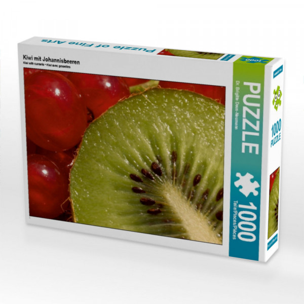 Puzzle Kiwi mit Johannisbeeren