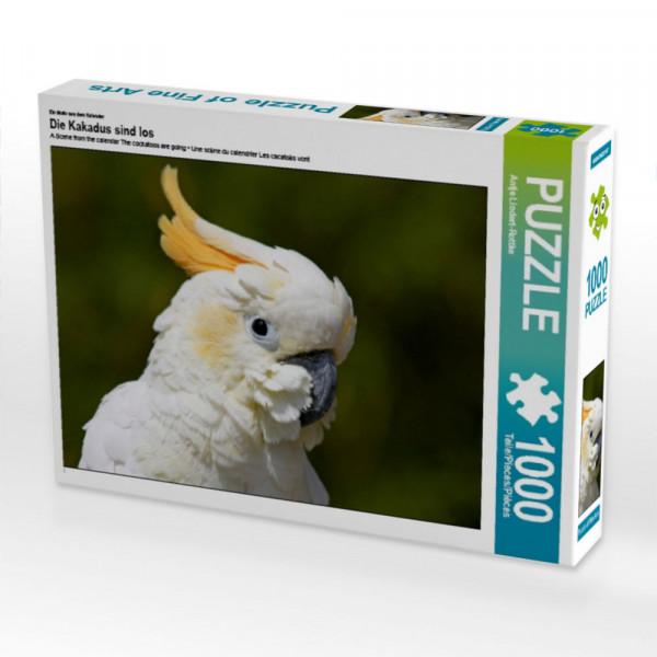 Puzzle Die Kakadus sind los