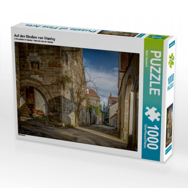 Puzzle Auf den Straßen von Vézelay