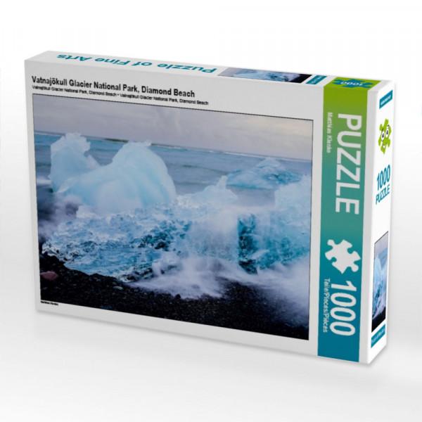 Puzzle Vatnajökull Glacier National Park Diamond Beach