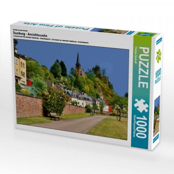 Puzzle Saarburg - Ansichtssache