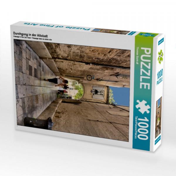 Puzzle Durchgang in der Altstadt