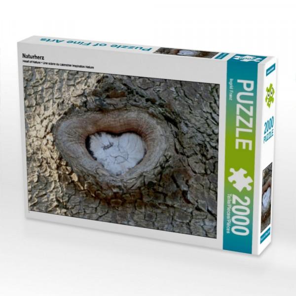 Puzzle Naturherz 2000 Teile Puzzle quer Motiv 1 Bild 1