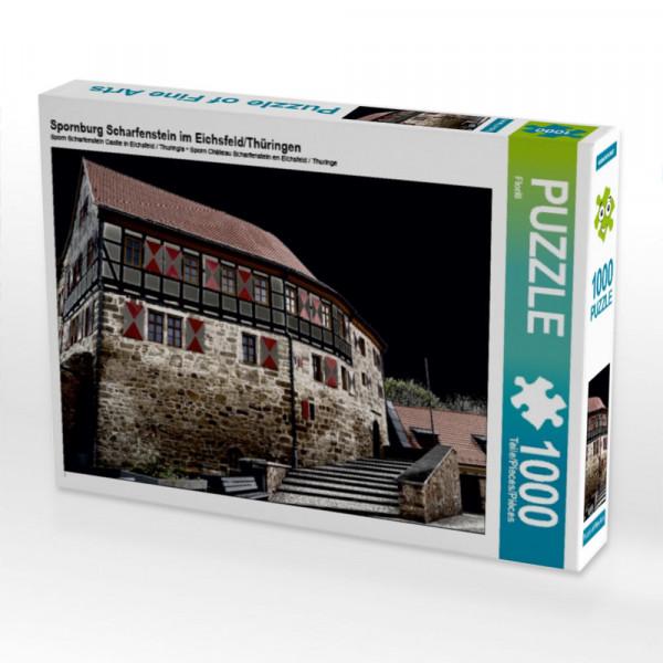 Puzzle Spornburg Scharfenstein im Eichsfeld/Thüringen