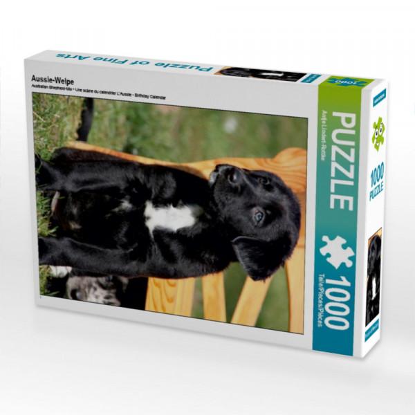 Puzzle Aussie-Welpe