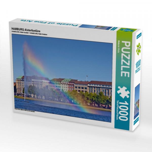 Puzzle HAMBURG Alsterfontäne